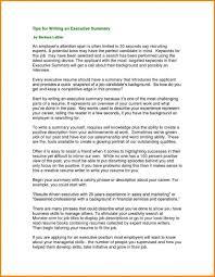 exles on how to write a resume sales summary resume resume executive summary exles writing