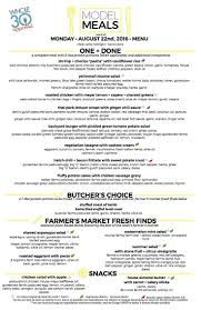 matc thanksgiving point 32 best model meal menus images on pinterest model weekly menu