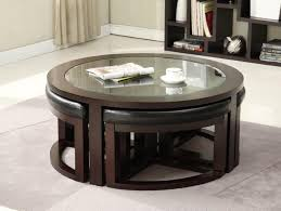 coffee table coffeee with stools that slide under it india asian
