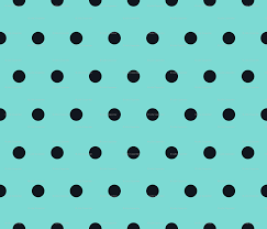 polka dot black on turquoise wallpaper juliesfabrics spoonflower