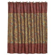 Shower Curtains With Red Western Shower Curtains At Lone Star Western Decor