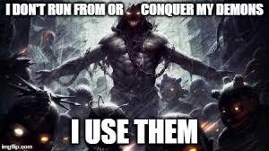 Demon Memes - demon use imgflip