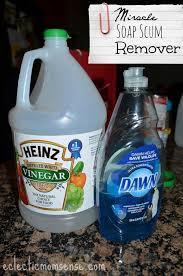 Bathtub Cleaner Vinegar Best 25 Dawn Shower Cleaner Ideas On Pinterest Dawn Vinegar