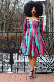 of the dress ankara product of the day zariah print dress by tribal groove