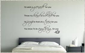 quote wall decals bedroom innovation quote wall decals home quote wall decals bedroom