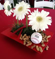 baseball themed wedding sports themed weddings baseball themed wedding centerpiece ideas