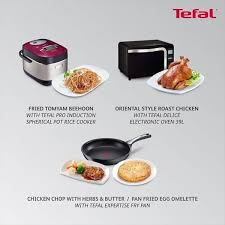 cuisine tefal chef learn the secrets chef scharlie s fragrant meals as