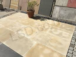 Indian Sandstone Patio by Polished Mint Patio Pack Indian Sandstone Paving Lsd Co Uk