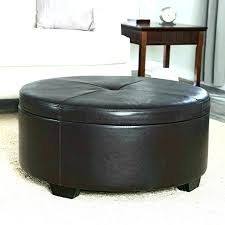 Cheap Black Ottoman Ottoman With Casters Leather Ottoman On Wheels Black Leather