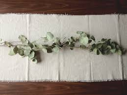make your own table runner diy canvas drop cloth table runner a daily something