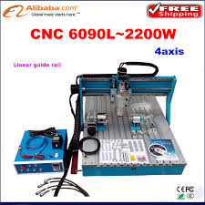 aliexpress com buy 4 axis 2 2kw mini cnc 6090 cnc milling