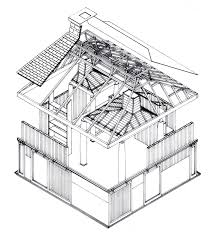 House Architecture Drawing Archetypes And Free Plan Orinda House By Charles W Moore House