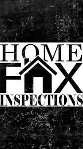 home inspection logo design home fax inspections residential u0026 commercial inspection services