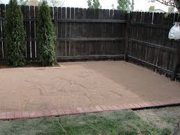 how to build a pea gravel patio 2358
