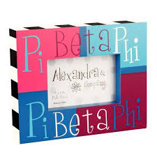 sorority picture frame alpha phi paddle trs