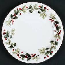 christmas plate 20 gibson dinnerware set berry garland christmas