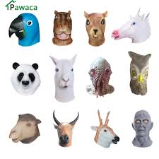 Scary Halloween Animals by Online Buy Wholesale Rubber Animal Mask From China Rubber Animal