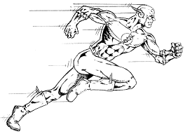 Flash Coloring Pages the flash coloring pages getcoloringpages