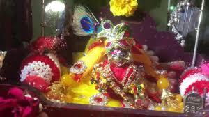 Krishnashtami Decoration Janamashtami Decoration Of Indians Youtube