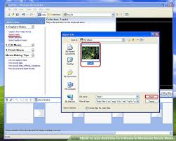 membuat intro video dengan movie maker how to add subtitles to a movie in windows movie maker 8 steps