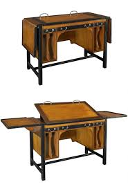 Oak Drafting Table by Faux Vintage Drafting Tables That Expand Core77
