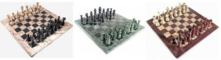 chess styles stone chess sets marble onyx and more by chess usa