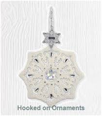2010 snowflake hallmark keepsake ornament at hooked on hallmark