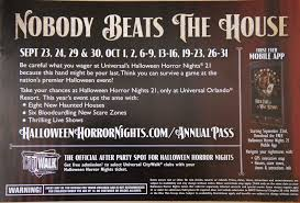 tickets to halloween horror nights universal u0027s fall 2011 passholder mailer arrives secrets revealed