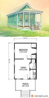 cottage style house plan 1 beds 1 00 baths 416 sq ft plan 514 2