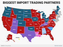 Mexico Map States State Trading Partners Map Business Insider