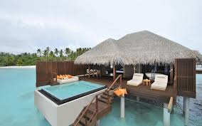 maldives hotel bungalow hd wallpapers pinterest
