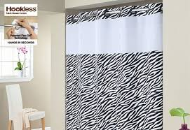 Animal Shower Curtain Sure Fit Hookless Plain Weave Animal Shower Curtains