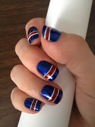 ny rangers nail art i bleed blue pinterest hair makeup and