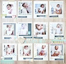 baby photo album simple stories baby album megan hoeppner