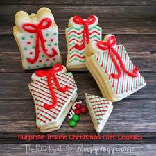 gift cookies snowflake filled snowman cookies hungry happenings