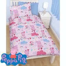 Postman Pat Duvet Set Buy Peppa Pig Duvet Set Single At Home Bargains
