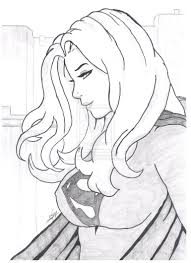 contemporary art sites supergirl coloring pages at children books