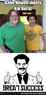 Borat Not Meme - borat fulfills chilhood dream by recyclebin meme center