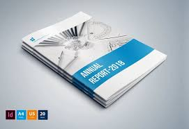 ind annual report template indesign annual report brochure templates creative market