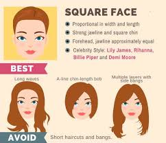 hair cuts for heavy jaw line the ultimate hairstyle guide for your face shape makeup tutorials