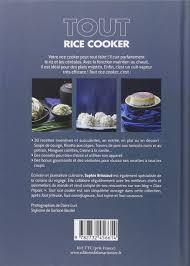 cuisiner avec un rice cooker amazon fr tout rice cooker brissaud livres