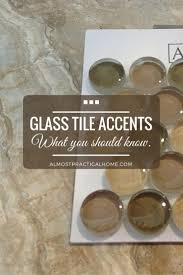 bathroom tile accents one thing about using glass tiles