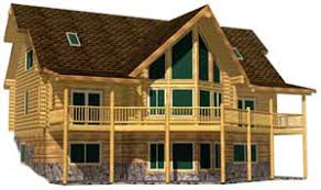 log cabin u0026 house design plans packages u0026 kits