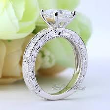 art deco skeleton ring holder images Vintage style art deco engagement ring 1 5 ct princess cut lab jpg