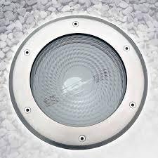 Round Fluorescent Light Fixture Recessed Floor Light Fixture Compact Fluorescent Hid Round