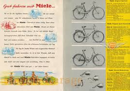 werbung prospekt moped garage net miele fahrrad original din a5 werbung reklame