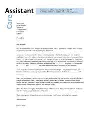 Pca Cover Letter care assistant cv template description cv exle resume