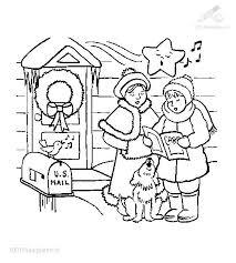 18 christmas carol coloring sheets christmas coloring