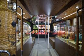 London Bus Interior Mcm On Tour London 2012 Realised And Project Managed By Justso