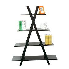 Bookcase Black Wood Furniture Fascinating Furniture For Living Room Decoration Using